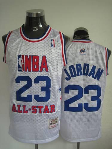 best service b6ded 24d28 Mitchell and Ness Wizards #23 Michael Jordan 2003 All Star ...